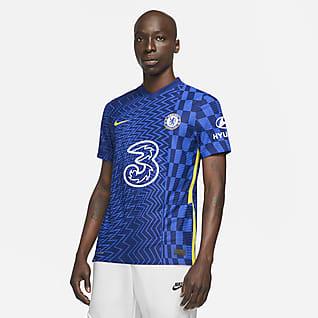 Chelsea FC 2021/22 Match (wersja domowa) Męska koszulka piłkarska Nike Dri-FIT ADV