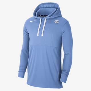 Nike College (UNC) Men's Lightweight Pullover Hoodie
