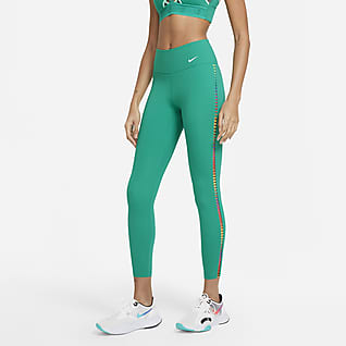 Nike One Rainbow Ladder Leggings de 7/8 para mujer
