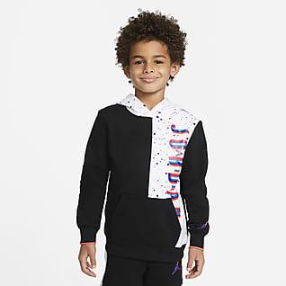 Jordan Μπλούζα με κουκούλα για μικρά παιδιά
