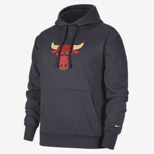 Chicago Bulls City Edition Logo NBA-huvtröja Nike för män