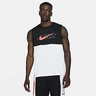 Nike Pro Dri-FIT Sport Clash Singlet med grafikk til herre