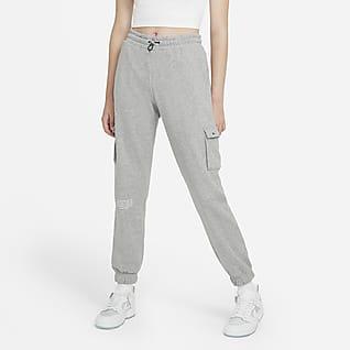 Nike Sportswear Swoosh Bukser i french terry til kvinder