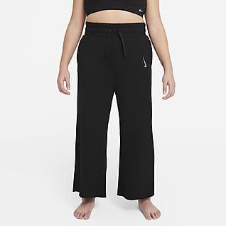 Nike Yoga Big Kids' (Girls') Pants (Extended Size)