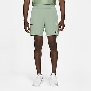 NikeCourt Dri-FIT Advantage Calções de ténis de 18 cm para homem