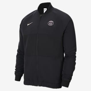 Paris Saint-Germain Fotbollsjacka Nike Dri-FIT med dragkedja i fullängd för män