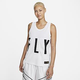 Nike Dri-FIT Swoosh Fly Basketballtrikot für Damen