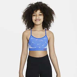 Nike Indy Big Kids' (Girls') Sports Bra