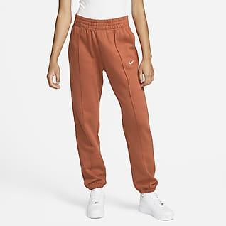 Nike Sportswear Essential Collection Pantalones de tejido Fleece para mujer