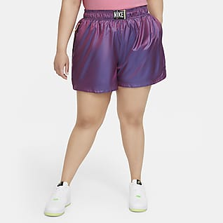 Nike Sportswear Dámské tkané kraťasy (větší velikost)