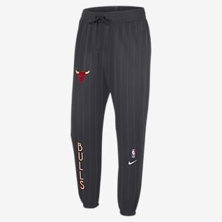 Chicago Bulls Showtime City Edition Nike Therma Flex NBA-Hose für Herren