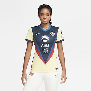 Club América 2020/21 Stadium de local Camiseta de fútbol para mujer