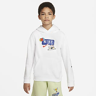 Nike Sportswear Club Big Kids' (Boys') Pullover Hoodie