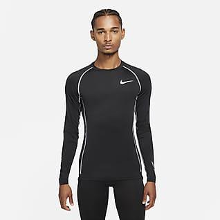 Nike Pro Dri-FIT Męska koszulka z długim rękawem i o przylegającym kroju