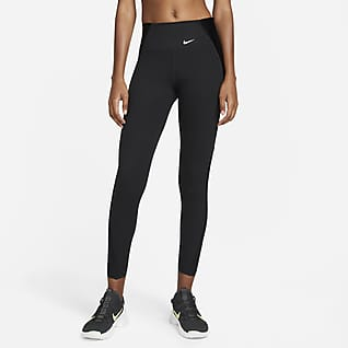 Nike Dri-FIT One Luxe Icon Clash Leggings estampados de 7/8 de tiro medio para mujer
