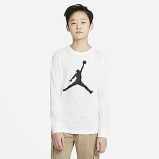 Jordan T-shirt met lange mouwen voor jongens
