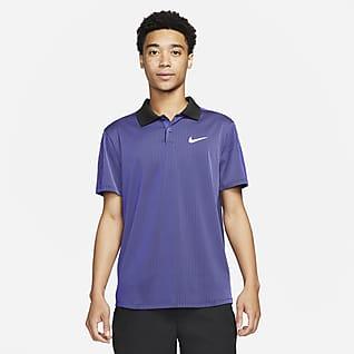 NikeCourt Dri-FIT ADV Slam Tennisskjorte til herre