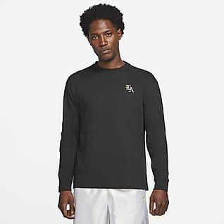LeBron Langarm-Basketball-T-Shirt für Herren