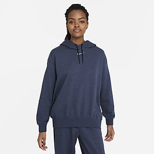 Nike Sportswear Collection Essentials Женская флисовая худи свободного кроя