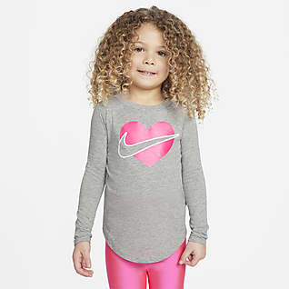 Nike Playera de manga larga infantil