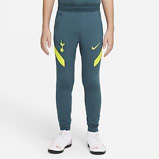 Strike Tottenham Hotspur Calças de futebol de malha Nike Dri-FIT Júnior