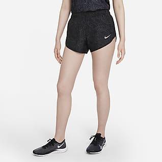 Nike Tempo Run Division 女款印花跑步短褲