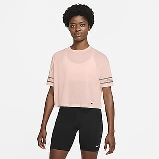 Nike Pro Women's Graphic Short-Sleeve Top