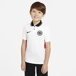 Eintracht Fráncfort de visitante Stadium 2020/21 Camiseta de fútbol para niños talla grande