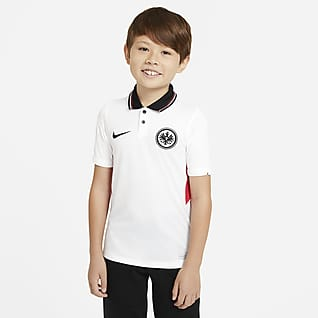 Eintracht Frankfurt 2020/21 Stadium Away Older Kids' Football Shirt