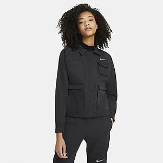 Nike Sportswear Swoosh Veste tissée pour Femme
