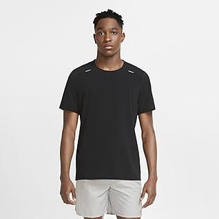 Nike Run Division Adapt Kortærmet løbeoverdel til mænd