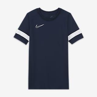 Nike Dri-FIT Academy Kortærmet fodboldtrøje til større børn