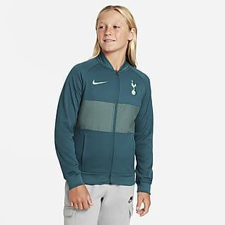 Tottenham Hotspur Fußball Track-Jacket mit durchgehendem Reißverschluss für ältere Kinder