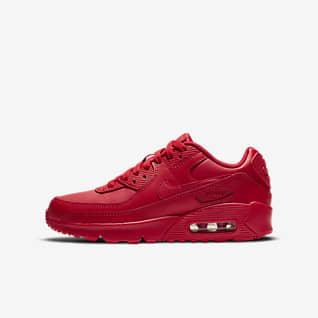 nike air max 90 womens red