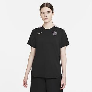 Παρί Σεν Ζερμέν Γυναικεία κοντομάνικη ποδοσφαιρική μπλούζα Nike Dri-FIT