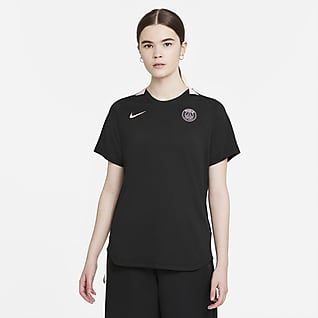 Paris Saint-Germain Haut de football à manches courtes Nike Dri-FIT pour Femme