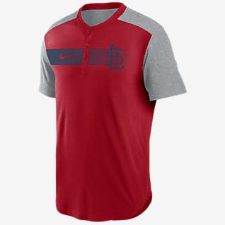 Nike Dri-FIT Fade (MLB St. Louis Cardinals) Men's Henley