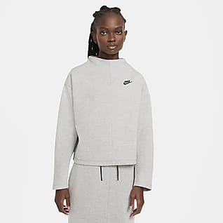 Nike Sportswear Tech Fleece Dámská mikina s kulatým výstřihem