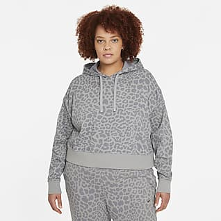 Nike Get Fit Women's Pullover Printed Training Hoodie (Plus Size)