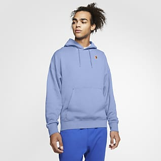 NikeCourt Tennishuvtröja i fleece för män