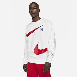 Nike Sportswear Swoosh Haut en tissu Fleece pour Homme