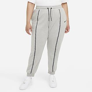 Nike Sportswear Icon Clash Women's Easy Fleece Mid-Rise Joggers (Plus Size)
