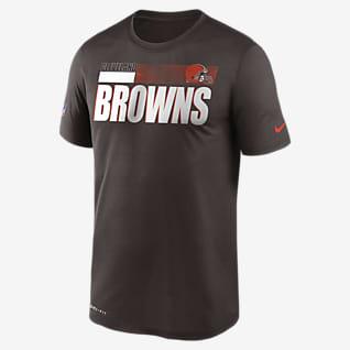 Nike Dri-FIT Team Name Legend Sideline (NFL Cleveland Browns) T-shirt voor heren