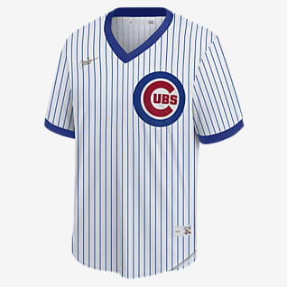 MLB Chicago Cubs (Ryne Sandberg) Men's Cooperstown Baseball Jersey