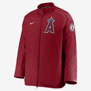 Nike Dugout (MLB Los Angeles Angels) Men's Full-Zip Jacket