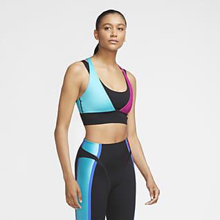 Nike Women's Light-Support Non-Padded Layered Sports Bra