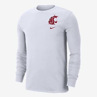 Nike College (Washington State) Men's Long-Sleeve T-Shirt