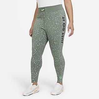 Nike Sportswear Leg-A-See Leggings de cintura alta de 7/8 para mujer (talla grande)
