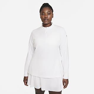 Nike Dri-FIT UV Victory Women's 1/2-Zip Golf Top (Plus Size)
