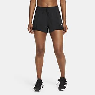 Nike Flex Essential 2-i-1 Træningsshorts til kvinder